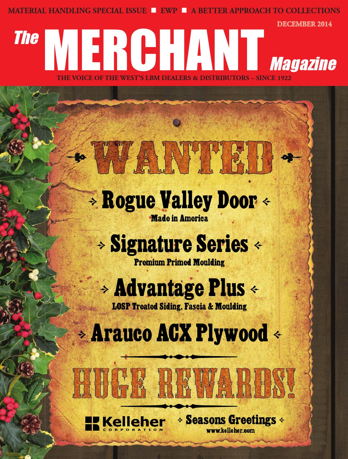 Merchant Dec 2014 By 526 Media Group Issuu