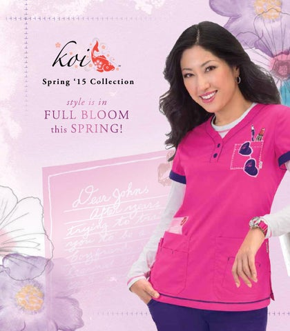 e2bc3b42dfb Koi Uniforms Spring '15 by Lambert's Uniforms - issuu