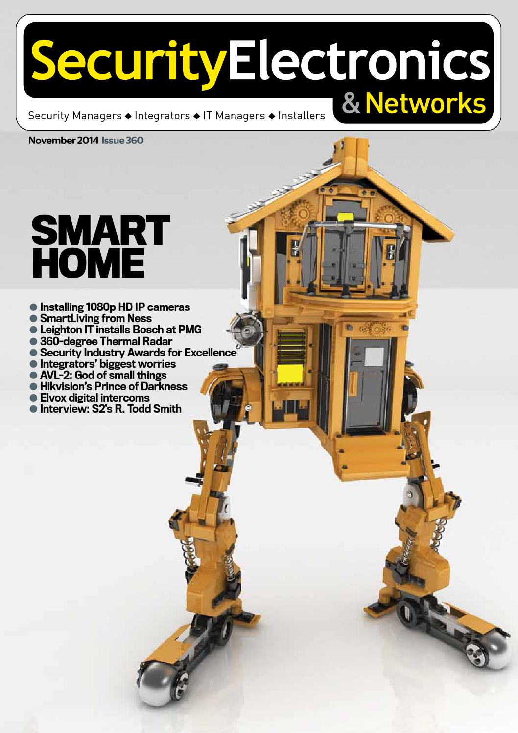 Sen Nov2014 By Security Electronics Networks Magazine Issuu Diy Fiber Optic Intercom Electronic Projects Circuits