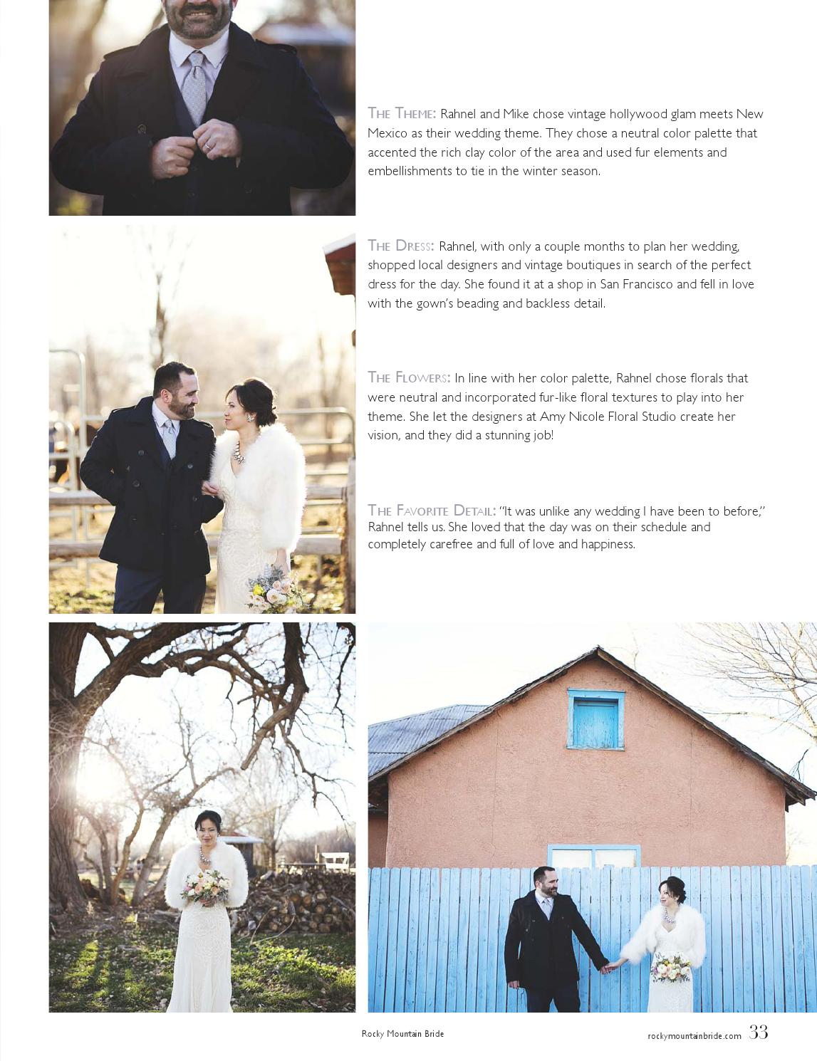 Rocky Mountain Bride Snow Issue by Rocky Mountain Bride Magazine - issuu