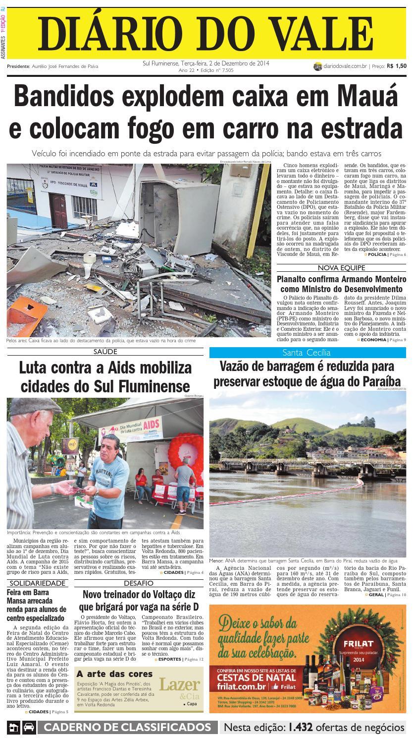 297c475425e29 7505 diario terca feira 02 12 2014 by Diário do Vale - issuu