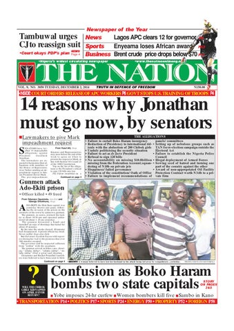 The Nation December 02 2014 By The Nation Issuu