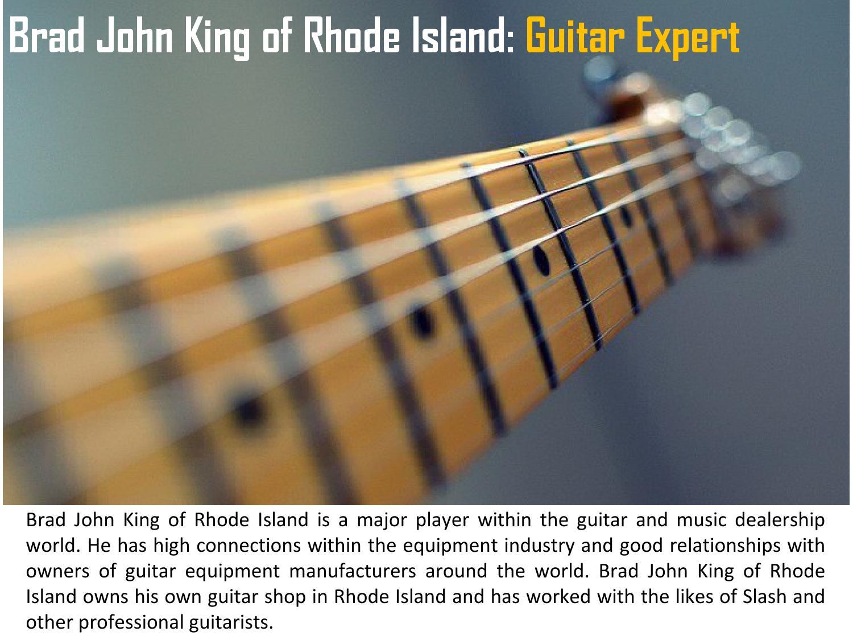 King Guitars Rhode Island