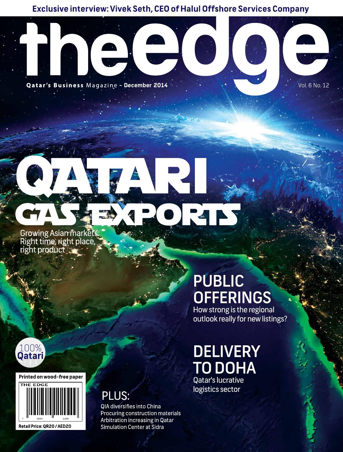 The Edge December 2014 Issue 62