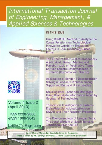ITJEMAST-V04(2):: International Transaction Journal of