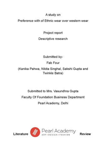 Research Project By Sakshi Gupta  Issuu