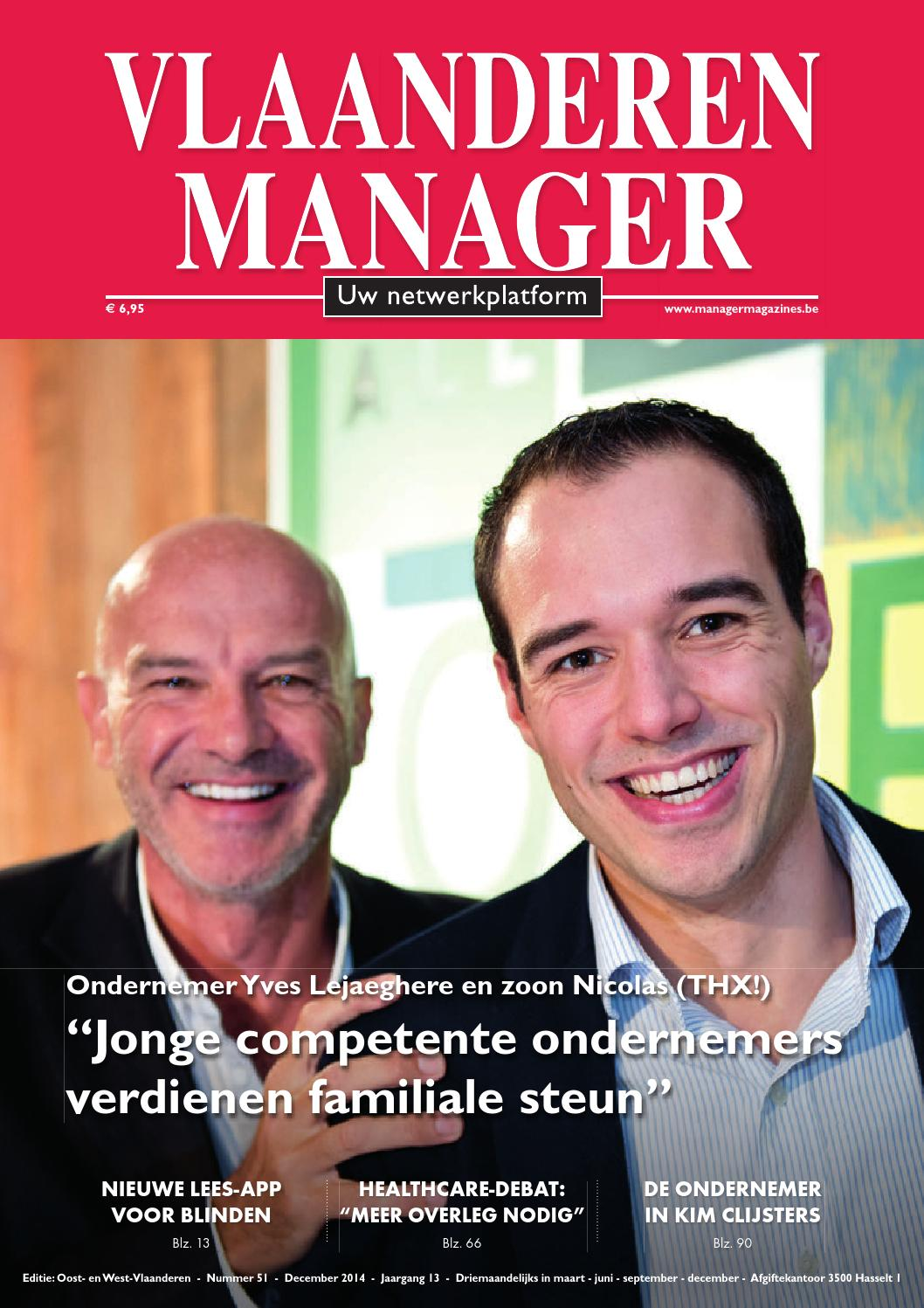 Vlaanderen Manager 51 by Manager Magazines - issuu