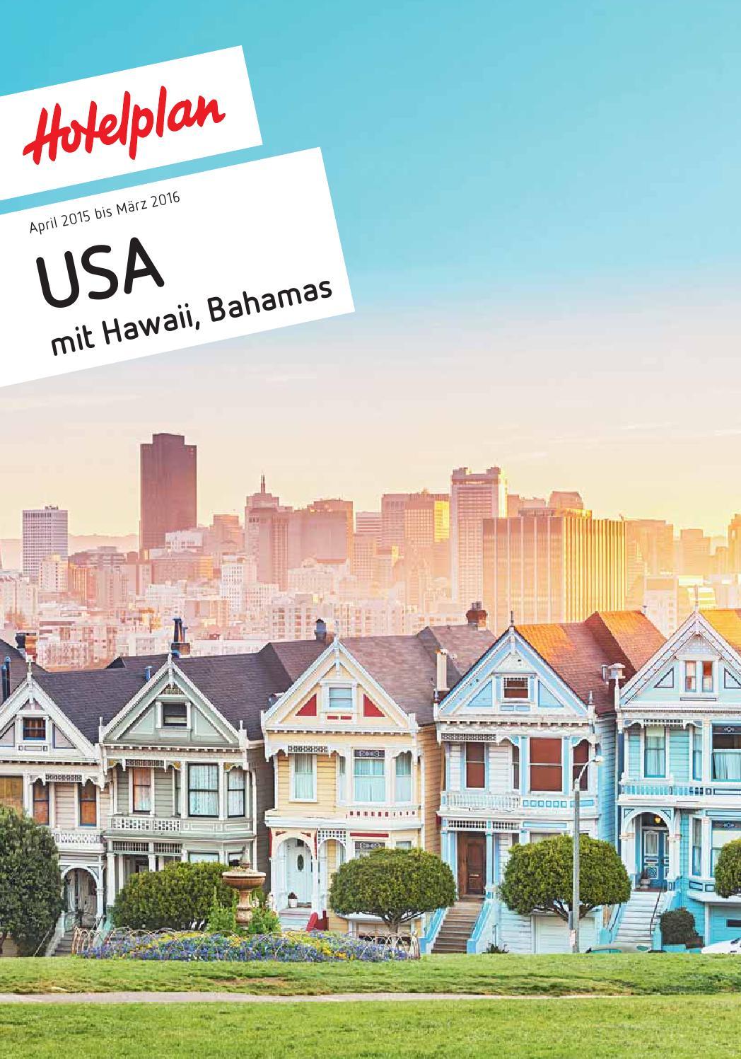 Hotelplan USA mit Hawaii, Bahamas April 2015 bis März 2016 by ...