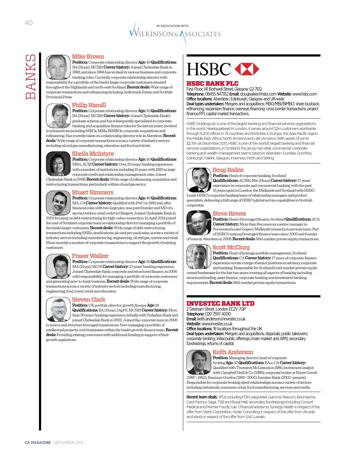 ICAS Who's Who in Corporate Finance 2015 by Think Publishing