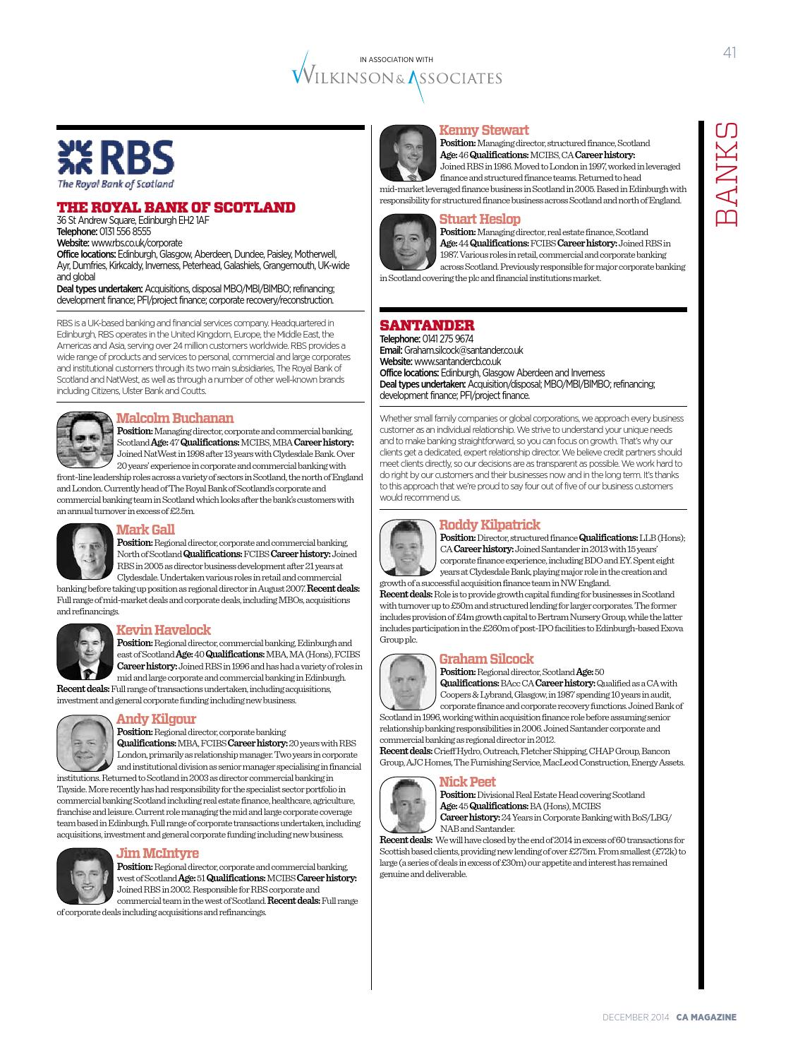ICAS Who's Who in Corporate Finance 2015 by Think Publishing - issuu