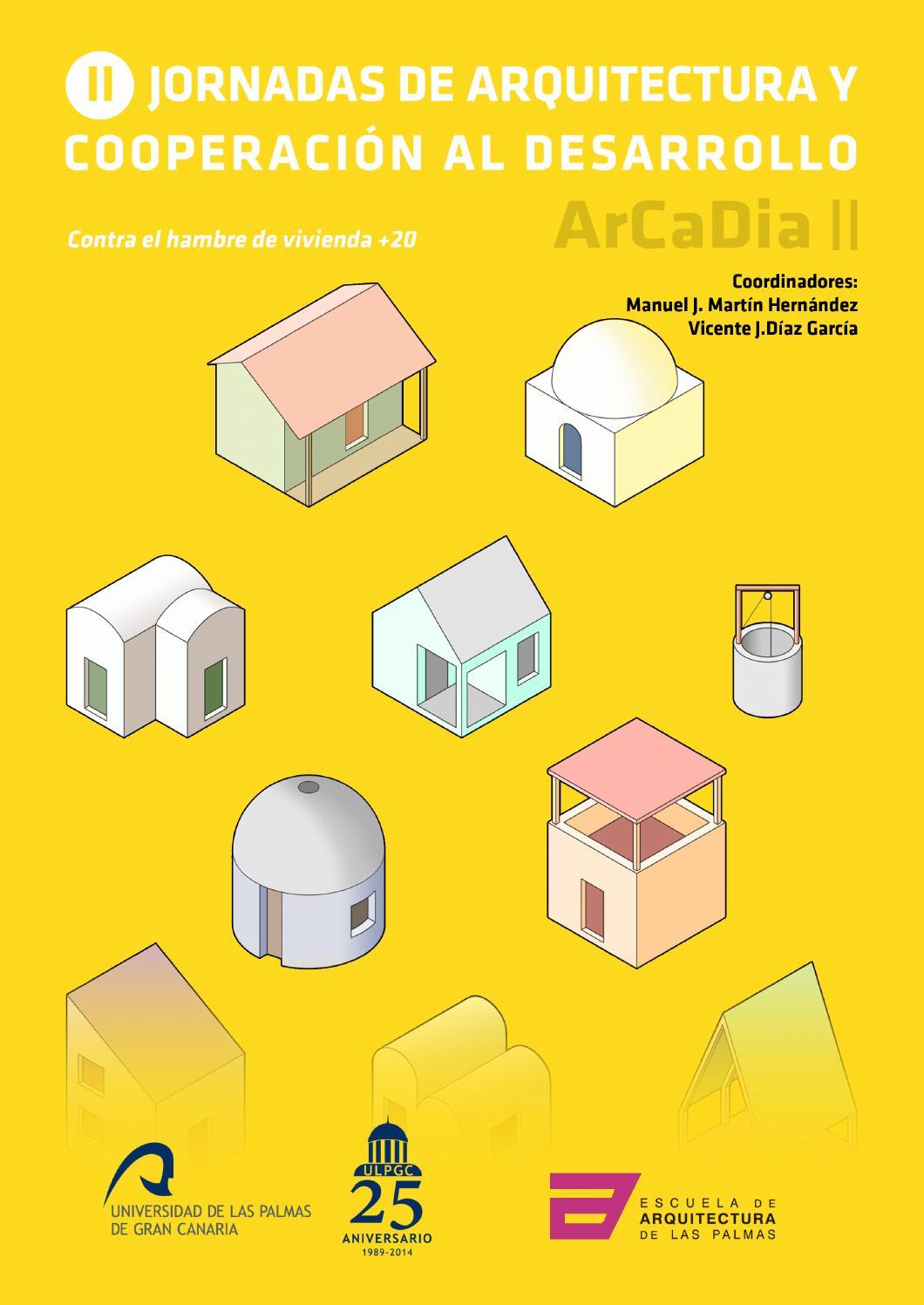 Ii jornadas de arquitectura y cooperaci n al desarrollo by Arquitectura de desarrollo