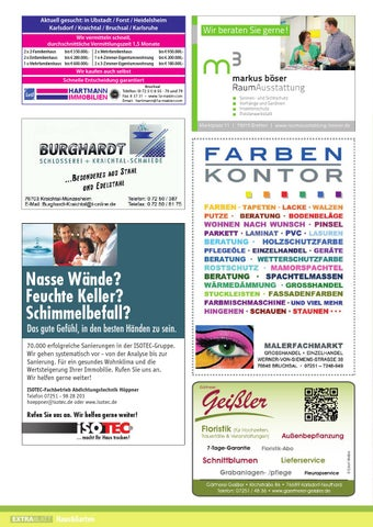 Willi Stadtmagazin August 2014 Bruchsal Kraichgau noerdl Landkreis ...