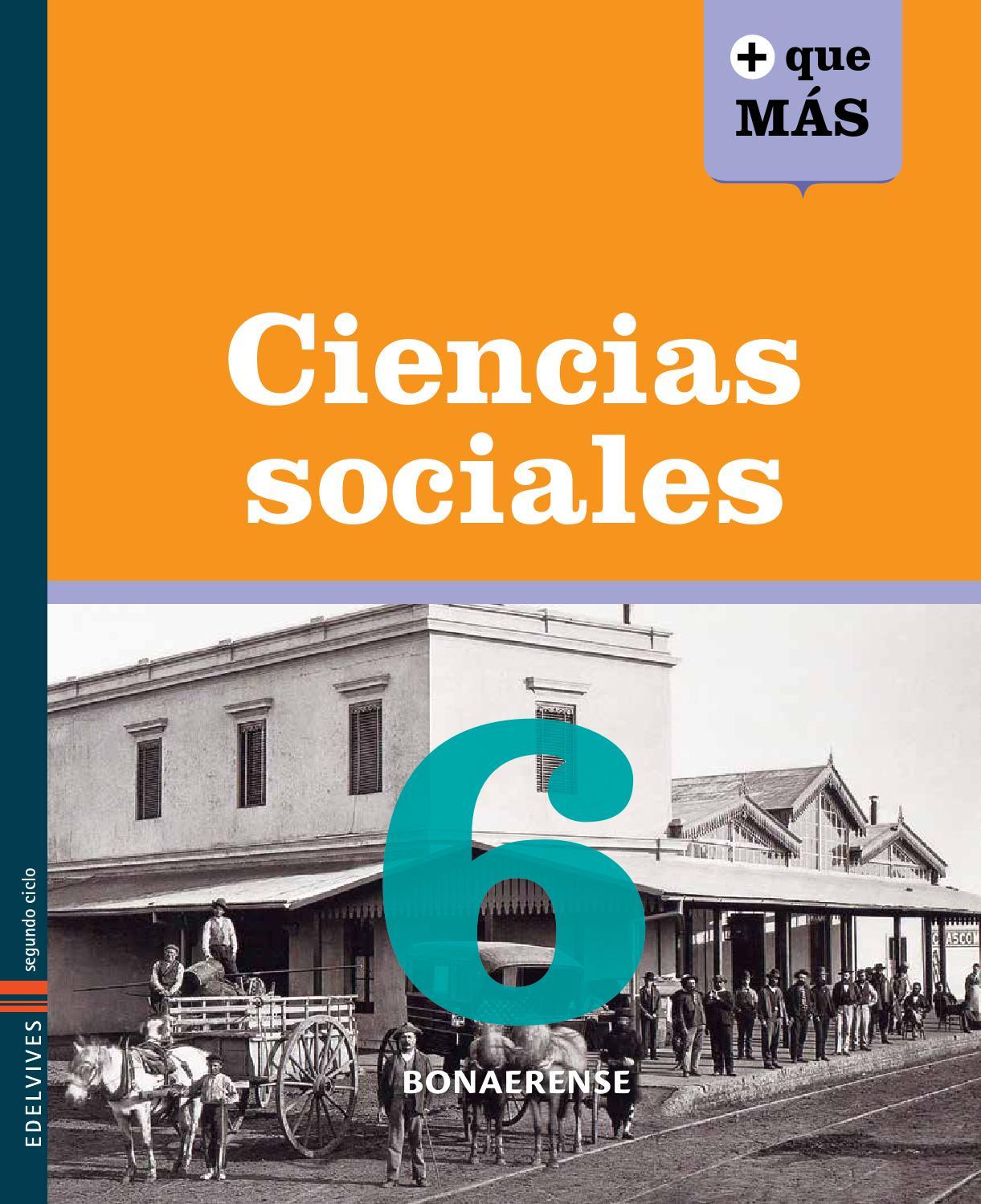 Ciencias Sociales 6 Bonaerense - Libro del alumno by
