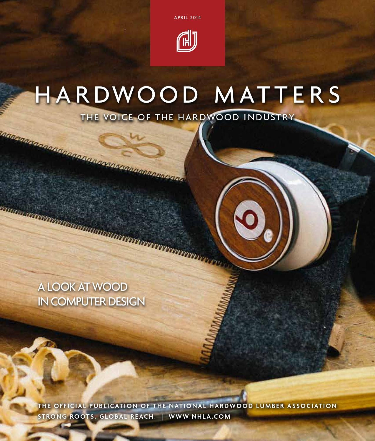 April hardwood matters by national lumber
