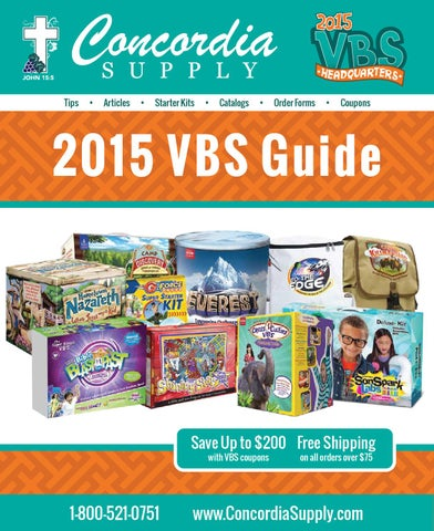 2015 VBS Guide