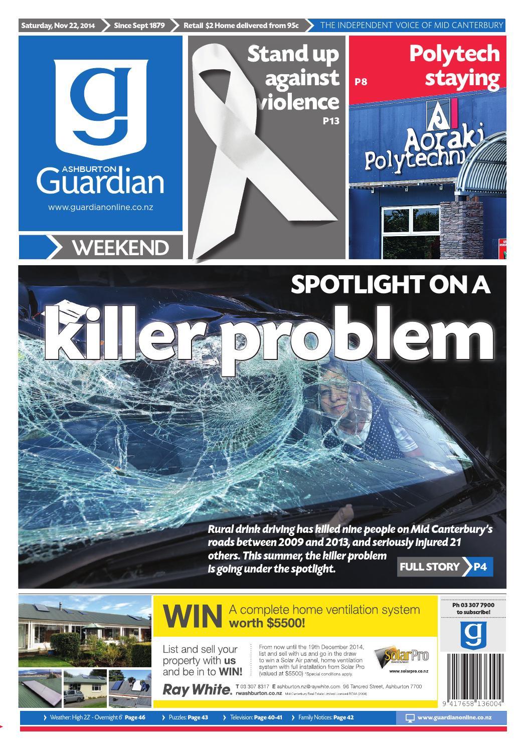AG November 22 2014 by Ashburton Guardian - issuu