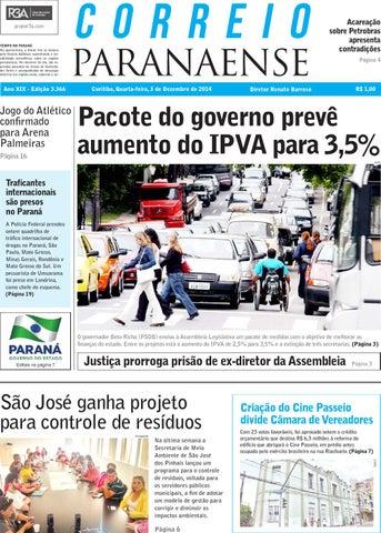 Jornal Correio Paranaense - Edição 03-12-2014 by Editora Correio ... 0000b2831a6fb