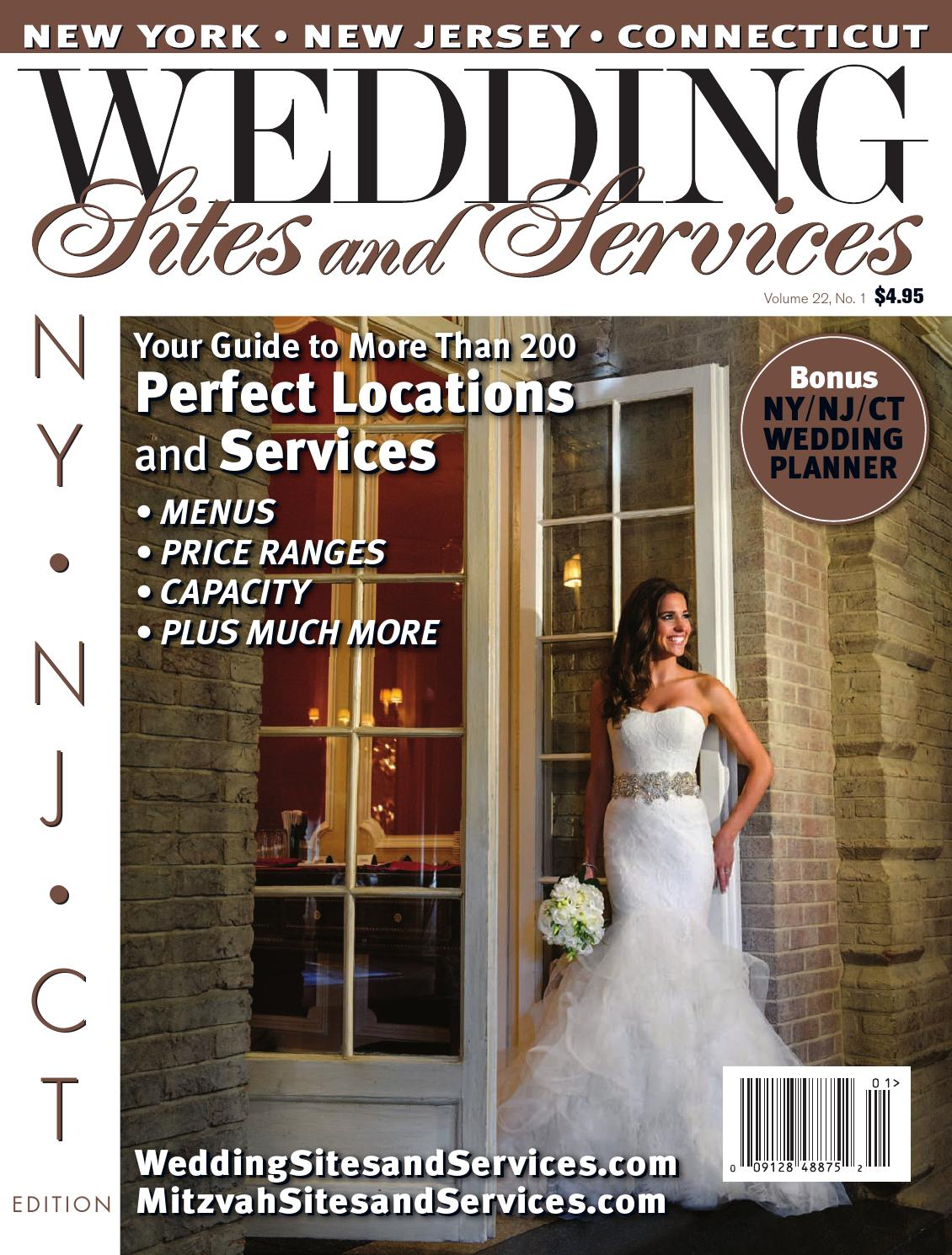 Wedding Sites and Services, NY/NJ/CT, January 2015 Edition by ...
