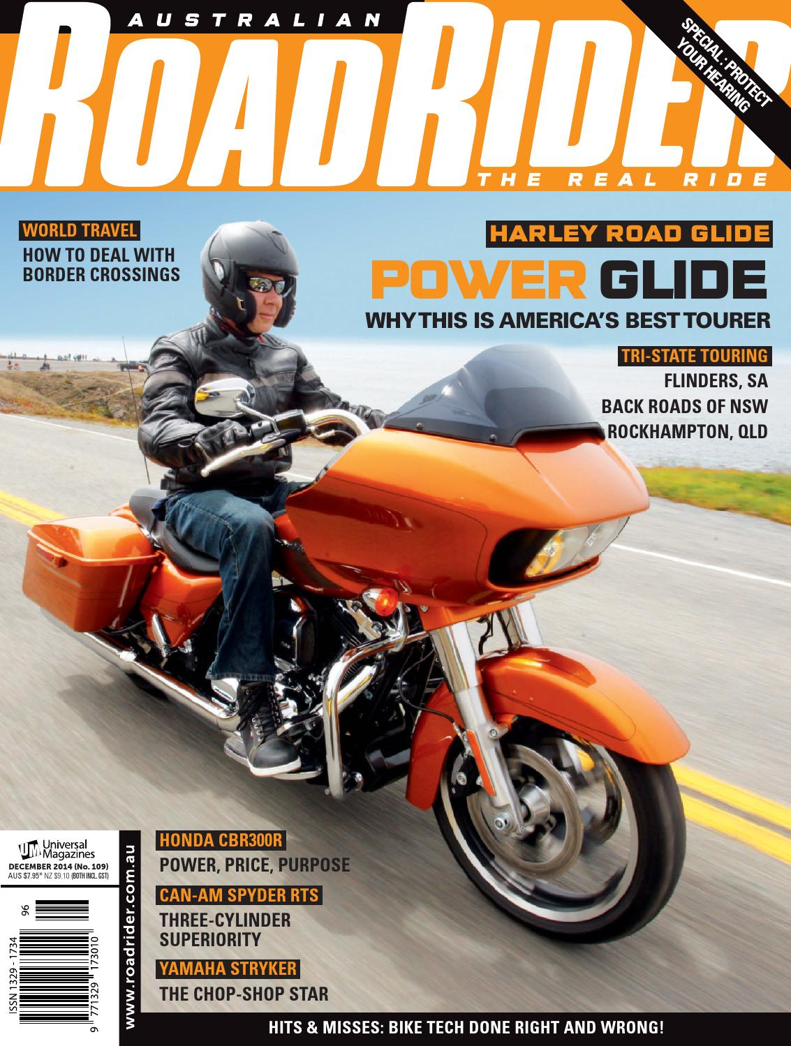 Issue109 Dec 2014 By Australian Road Rider Official Issuu 2006 Honda Cbr600rr Behind Left Middle Fairing Fuse Box Diagram