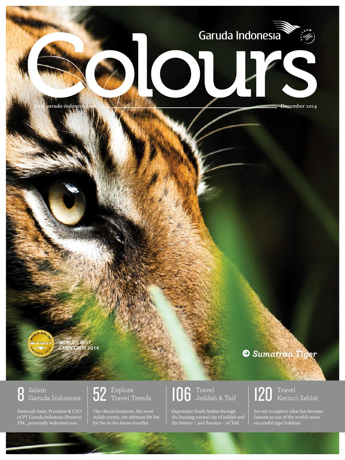 Colours Garuda Indonesia December 2014 by AGENCY FISH - issuu 113745112d
