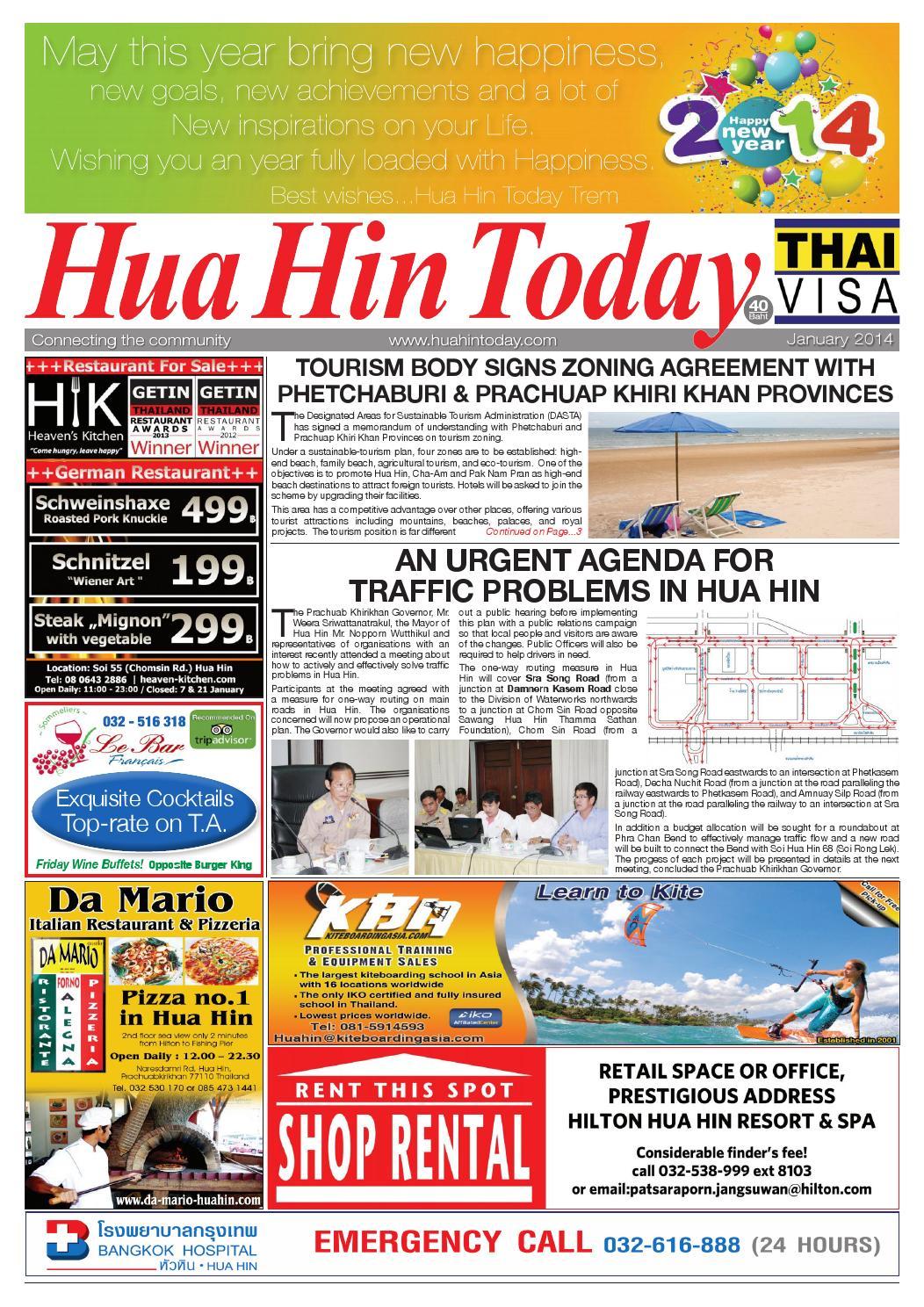 Newspaper Hua Hin Today January 2014 by Hua Hin Today - issuu