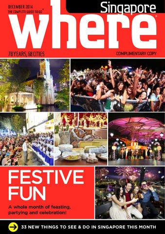 WHERE Singapore  December 2014 by Asia City Media Group - issuu 33848ac6ff9