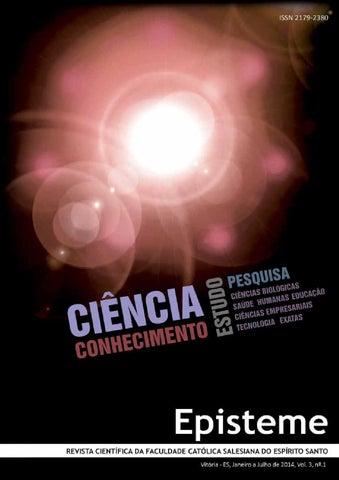 Revista Episteme - Edição Nº 03 by Católica de Vitória - Centro ... 8face2fd8cbc3