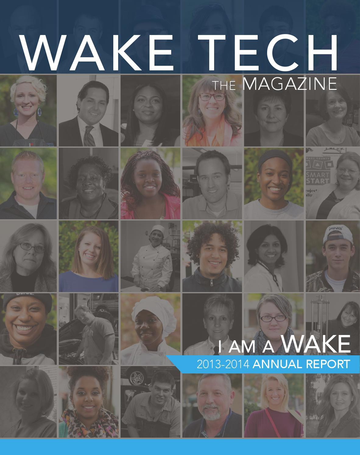 wake tech annual report 2013-2014 by Wake Tech Community College - issuu