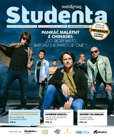 17a4c516d7d Studenta 41 Prosinec 2014 by Studenta - issuu