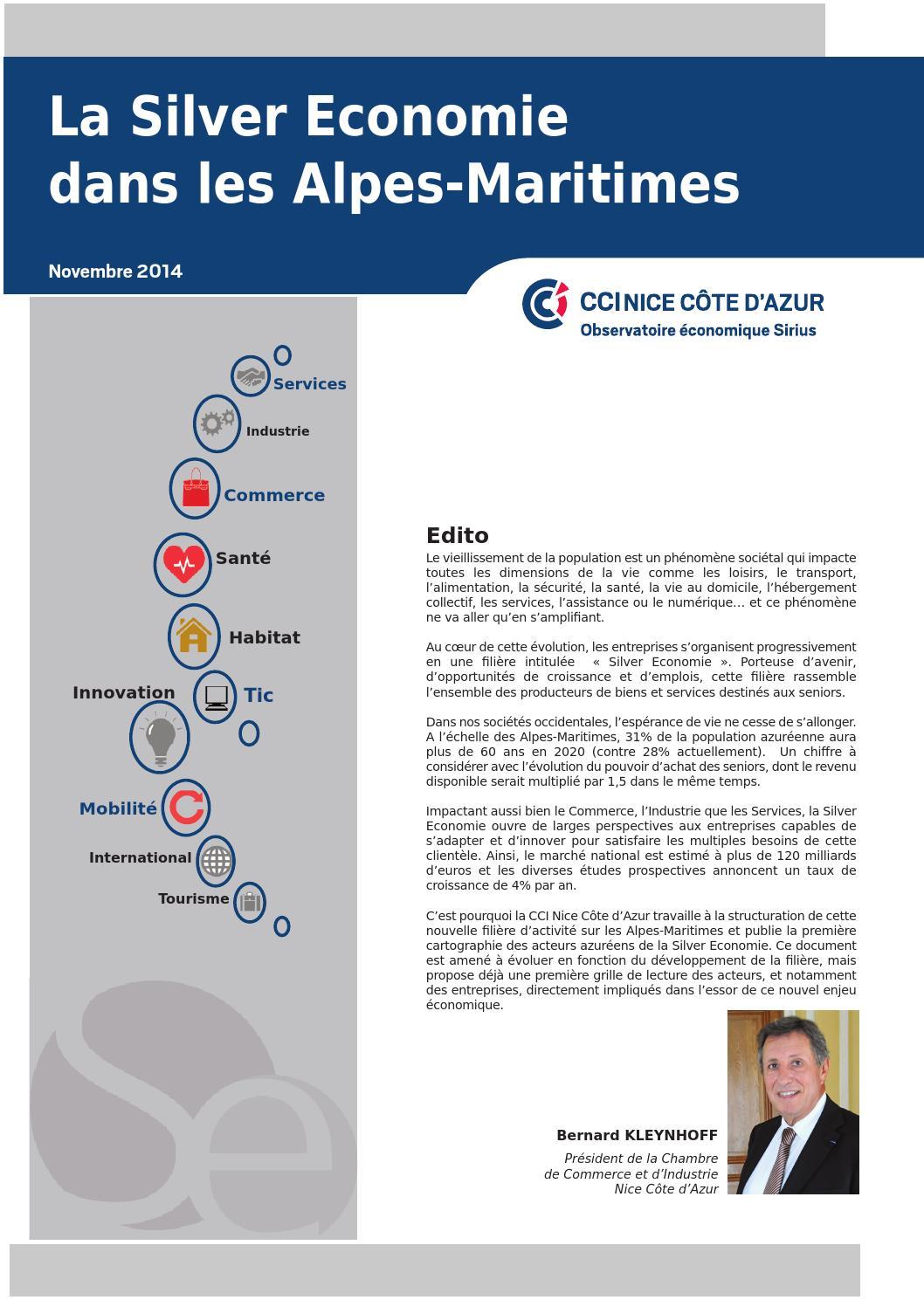 La silver économie dans les Alpes-Maritimes by CCI Nice Côte d Azur - issuu b67b4796764