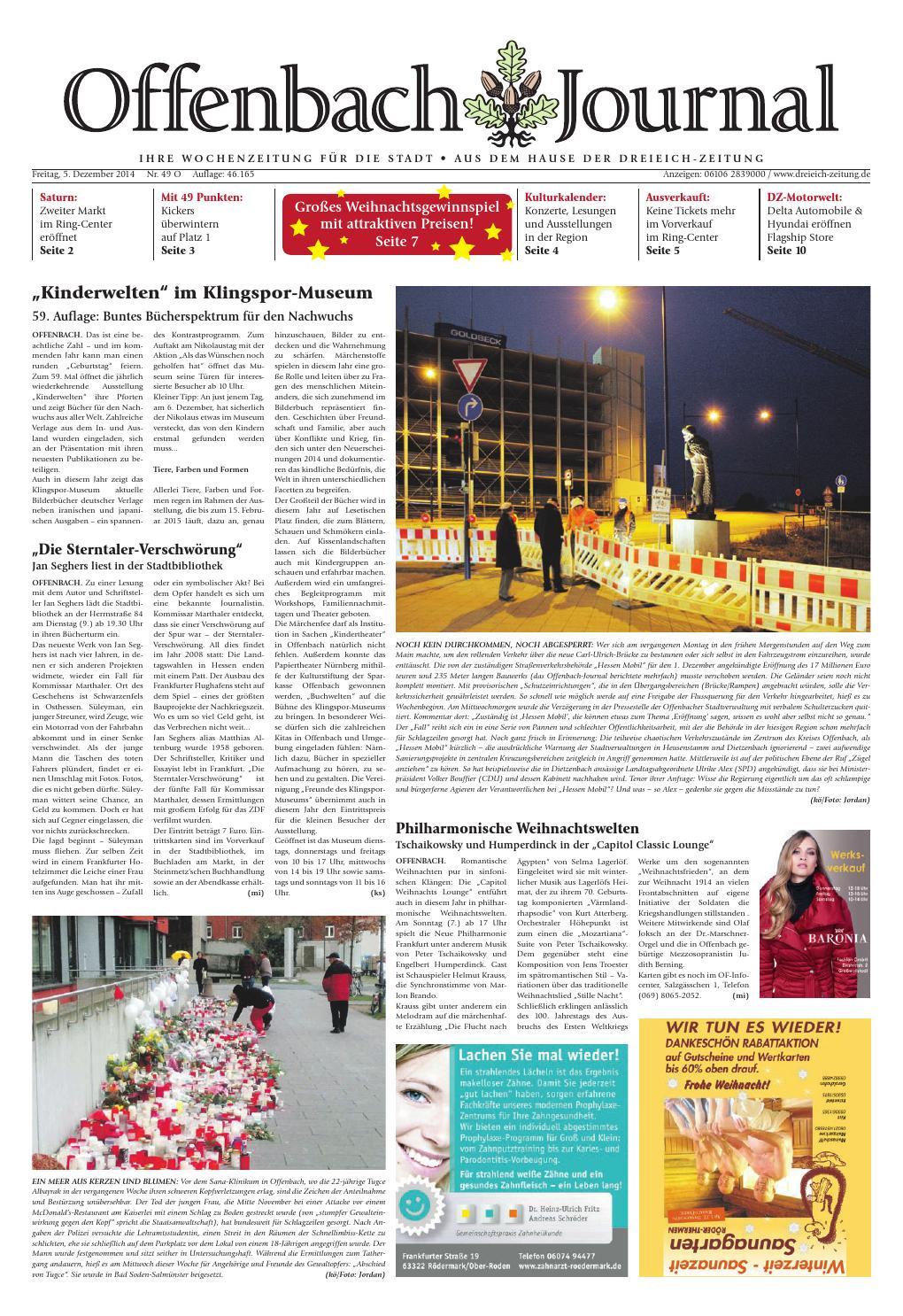 Oj online 049 14 by Dreieich ZeitungOffenbach Journal issuu