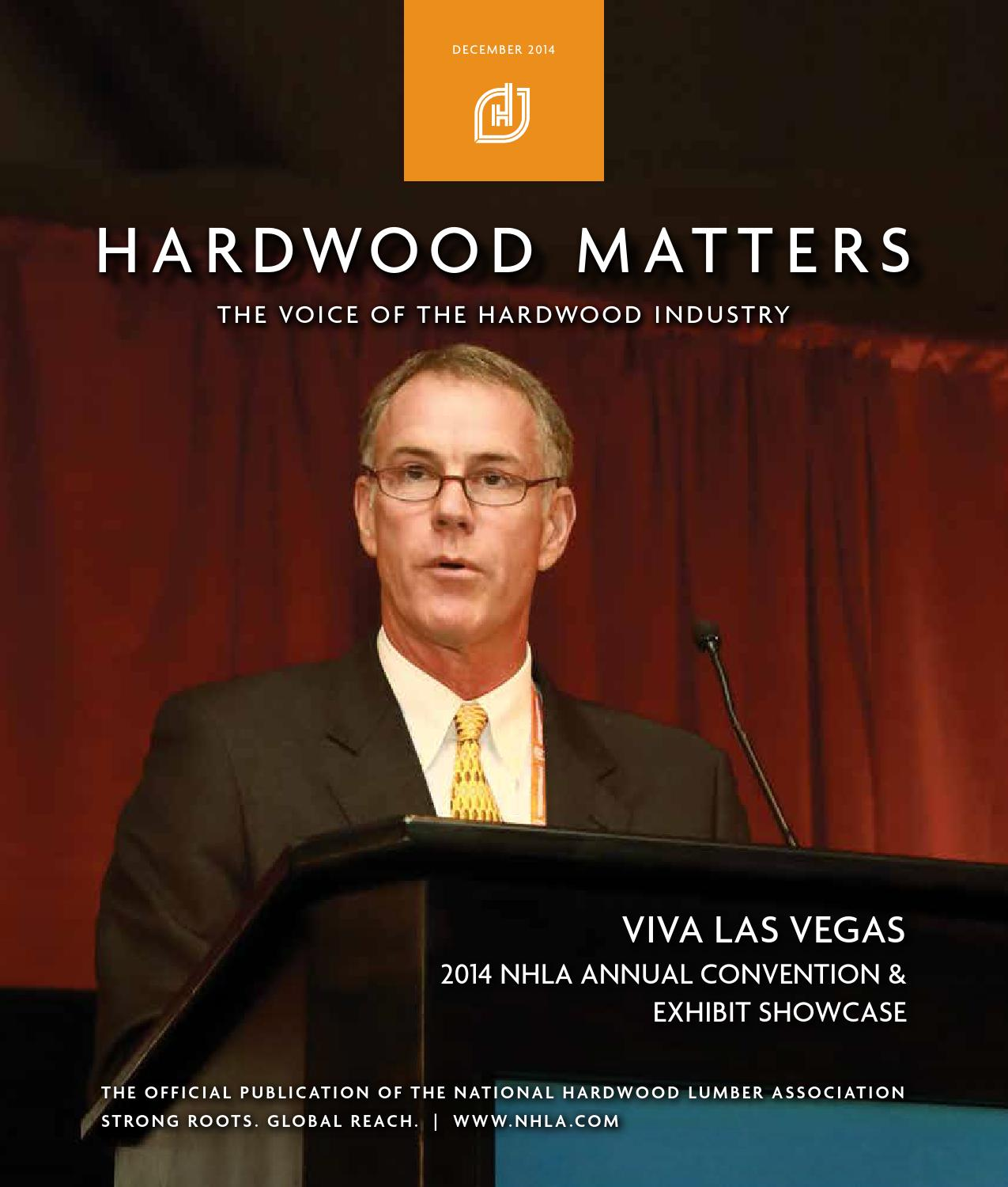 National Hardwood Lumber Association ~ December hardwood matters by national lumber
