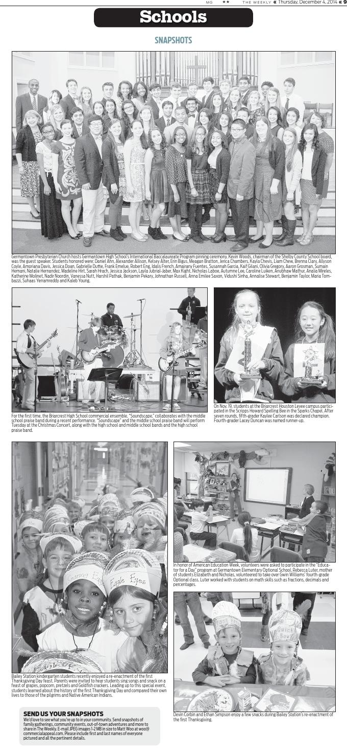 Dec  4 Collierville Weekly by Special Publications from The