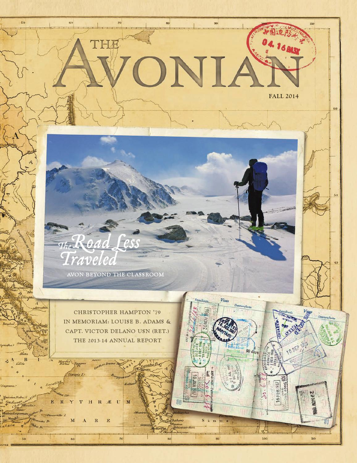 The Avonian Fall 2014 By Avon Old Farms School Issuu Exploded View Diagram Randal Birkey Illustration