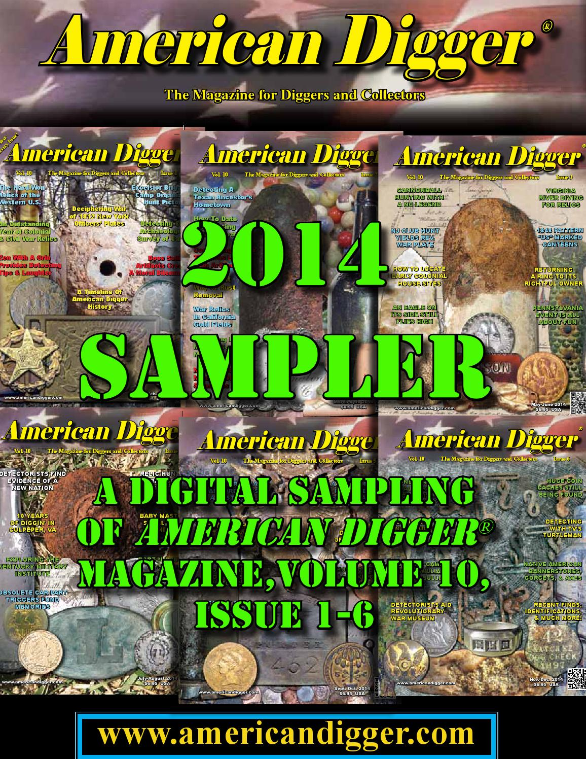 2014 american digger sampler by american digger magazine issuu kristyandbryce Image collections