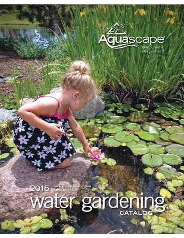 Etonnant 2015 Aquascape Water Gardening Catalog By Aquascape Inc.   Issuu