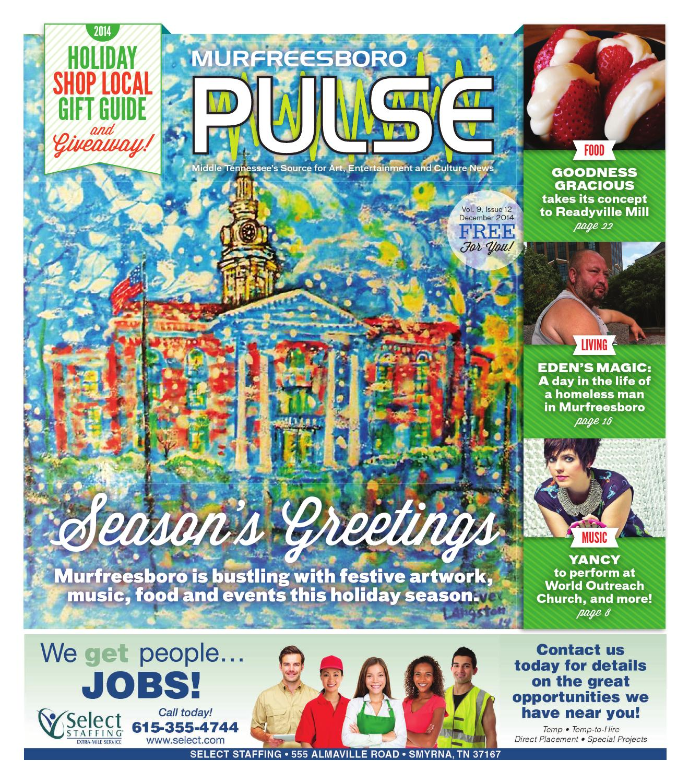 December 2014 Murfreesboro Pulse By The