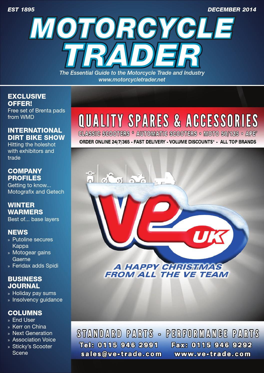 Motorcycle Trader – December 2014 by Motorcycle Trader - issuu