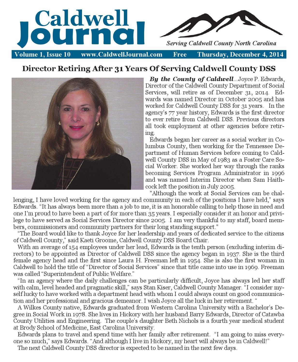 Caldwell Journal 12 04 2014 By Caldwell Journal Issuu