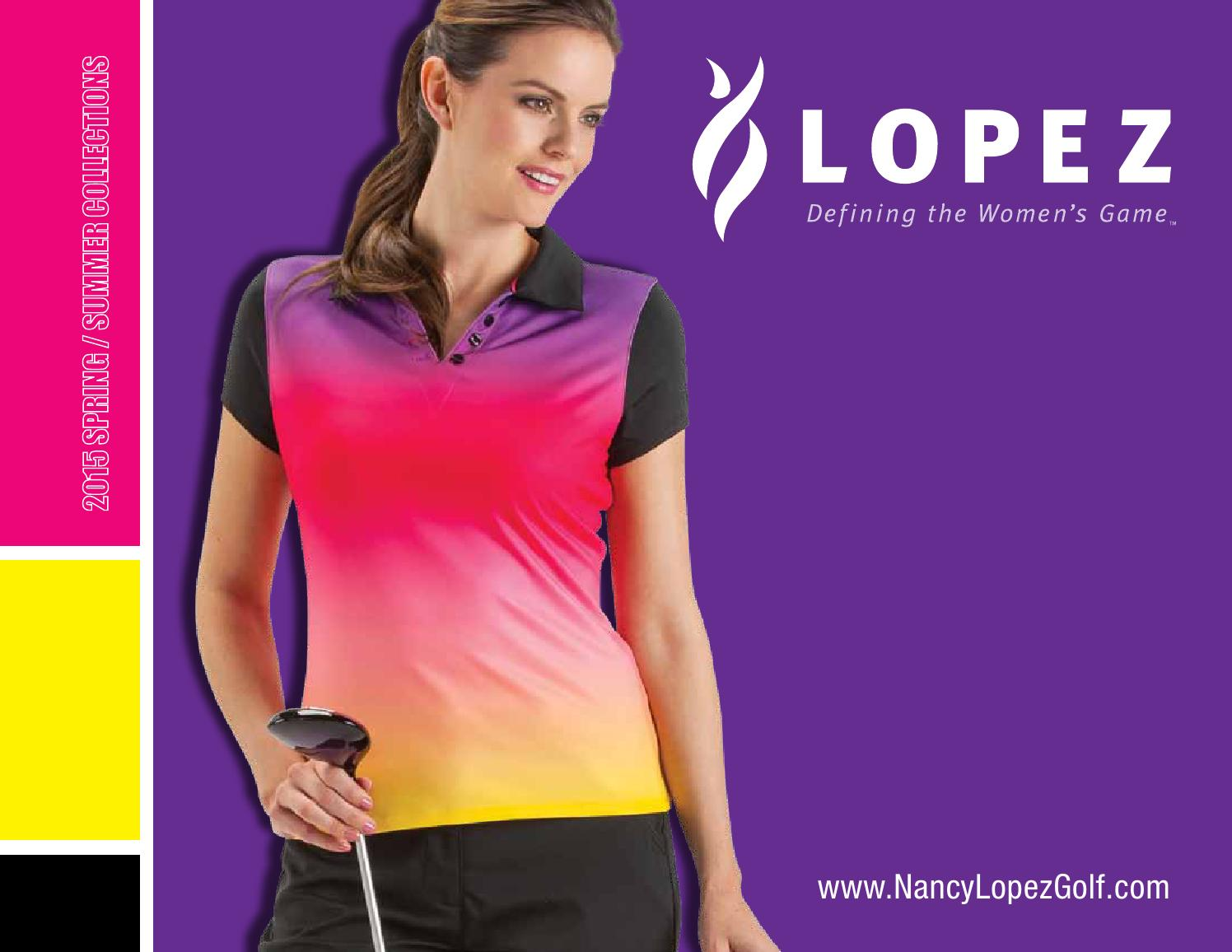24de3fdd3a0 Sping 2015 Nancy Lopez Golf Apparel by Lori s Golf Shoppe - issuu