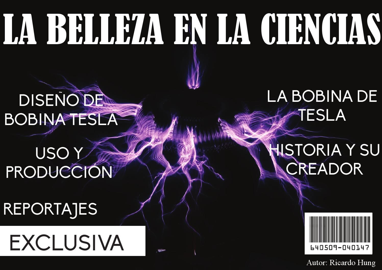 Circuito Bobina De Tesla : Bobina de tesla by ricardo issuu