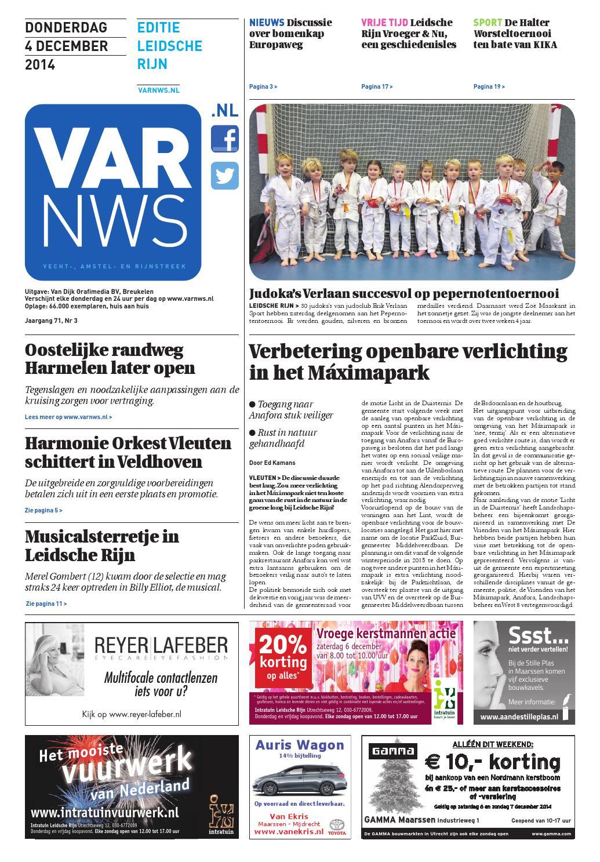 954f82ade6e991 VARnws Leidsche Rijn 4 december 2014 by VARnws - issuu