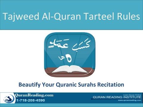 Tajweed Al Quran App by smartapps - issuu