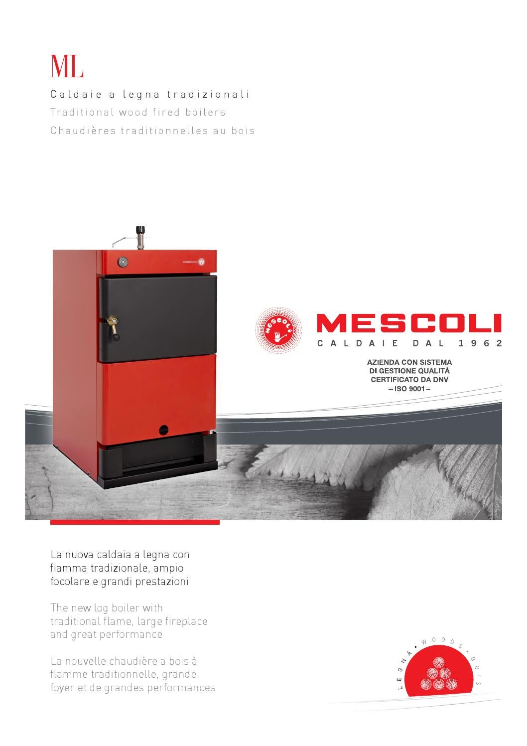 Mescoli serie ml a legna by idea studio caminetti issuu for Mescoli caldaie