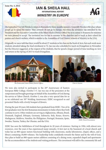 Ian & Sheila Hall newsletter by Florin Iosif - issuu