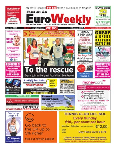23f85045e192b Euro Weekly News - Costa del Sol 4 - 10 December 2014 Issue 1535 by ...