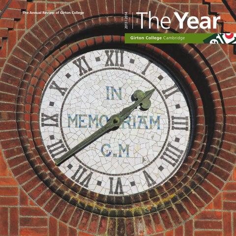 2014 The By Year Girton College Issuu 5qqAwvC