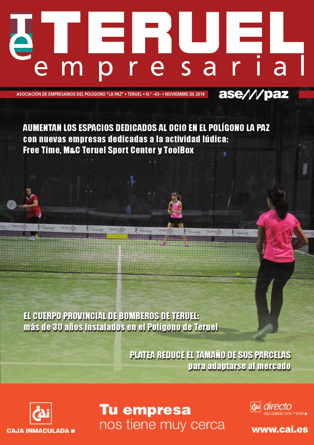Revista Teruel Empresarial N 43 By Asempaz Asoc De Empresarios  # Muebles Jover Teruel