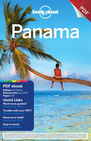Panama 6 full pdf ebook by adriaan castermans issuu page 1 f pd panama pdf ebook fandeluxe Gallery