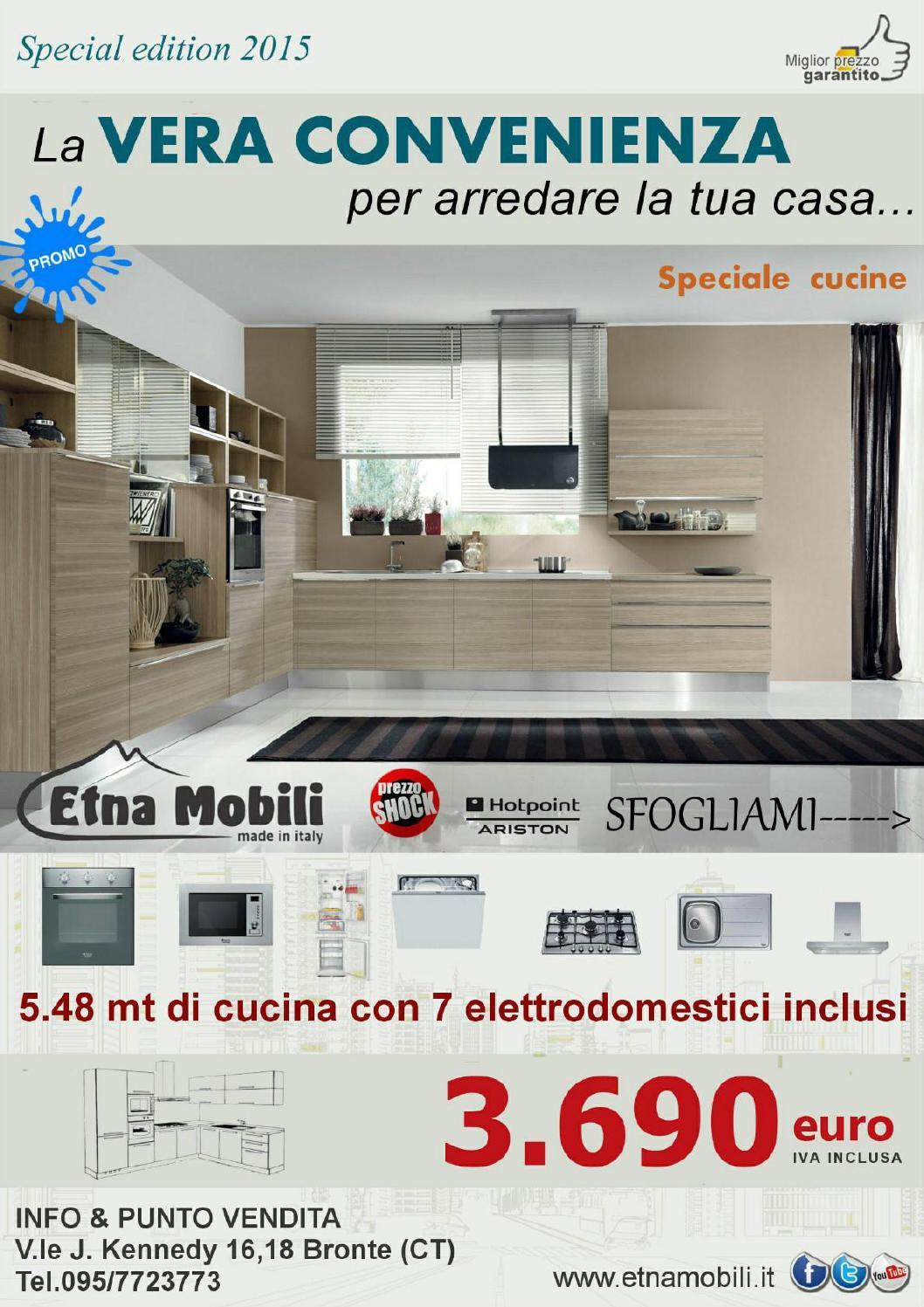 Volantino brochure etna mobili 2014 2015 by etna mobili for Volantino casa e co foggia